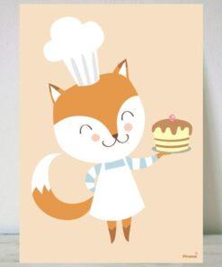 Lámina Chef