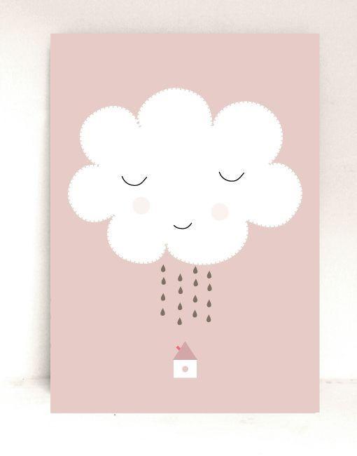 Lámina Que llueva
