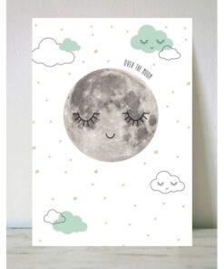 Lámina luna mint