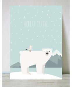 Lámina oso polar