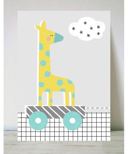 Lámina Girafa