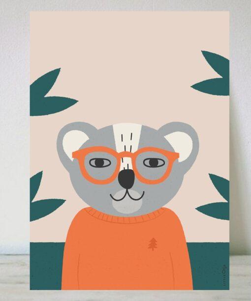 Lámina Koala