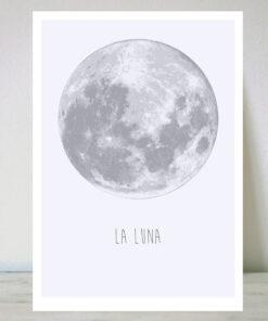 Lámina La Luna