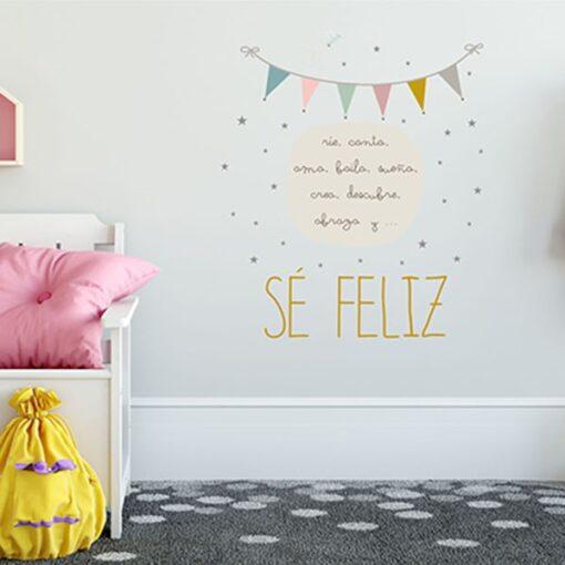Vinilo Sé Feliz