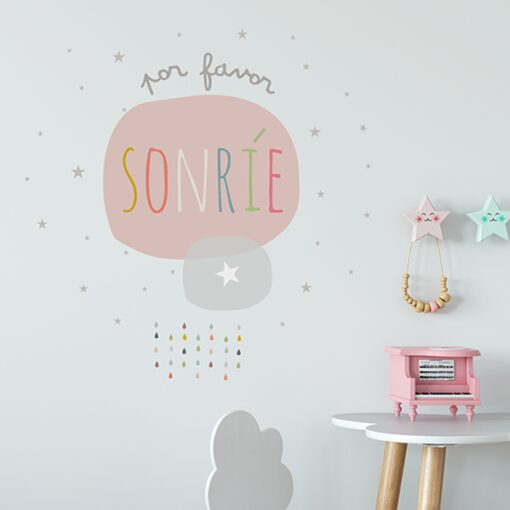 Vinilo Sonrie