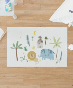 Alfombra de Vinilo Elefante