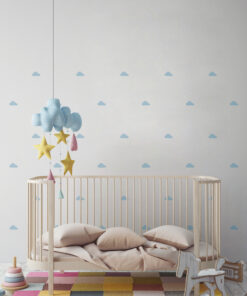 Mini Vinilo Infantil Nubes