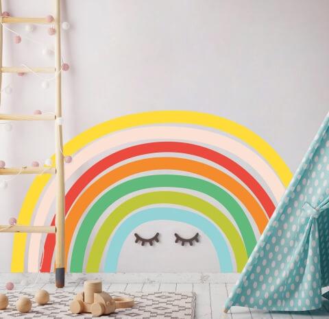vinilos-decorativos-infantiles-arco-iris